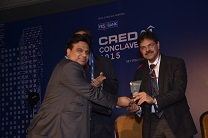 Prize distribution in CREDAI Conclave of 2015