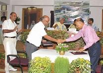 Meeting of guest regarding Redevelopment