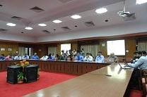 Meeting of Indian Railway Station Corporation Development