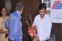 Guest Accepting bouquet