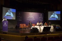 Discussion of sangath art competition event